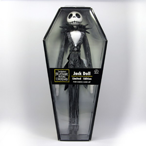 THE NIGHTMARE BEFORE CHRISTMAS Jack Doll Limited Edition